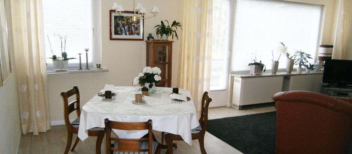 Esszimmer: Ferienwohnung in Bad Gandersheim bei Klügers