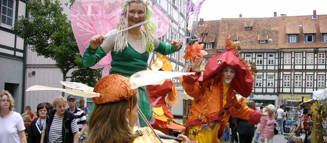 Fest in Bad Gandersheim: Die Ferienwohnung in Bad Gandersheim bei Klügers