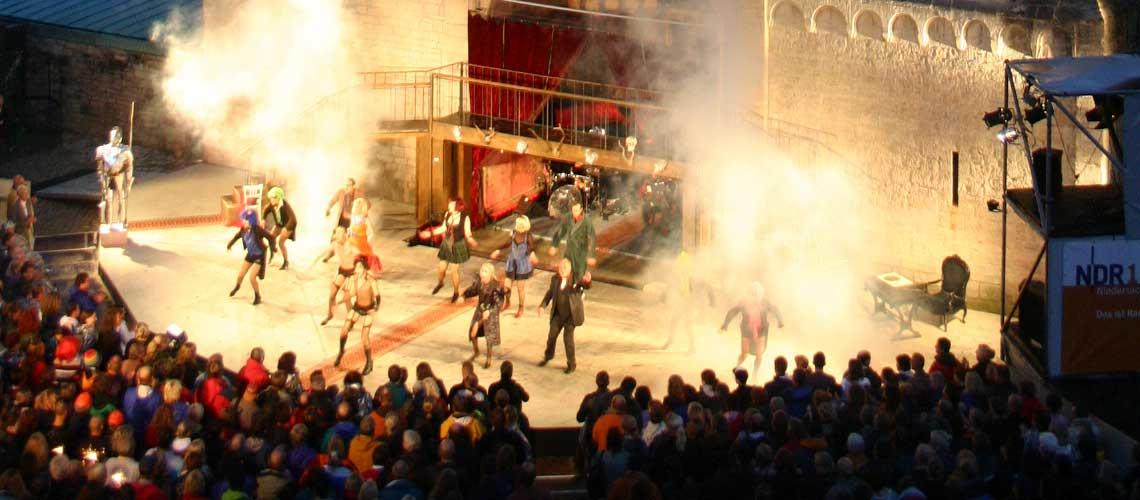 Gandersheimer Domfestspiele: Ferienwohnung in Bad Gandersheim bei Klügers